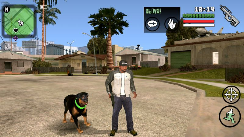 GTA San Andreas Apk Mod + Obb (1 08) Download - ApkModApps